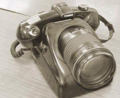 Old Fashion Camera Phone